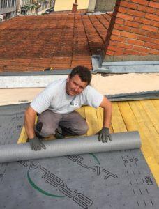 Fuite d'eau de toit Chessy